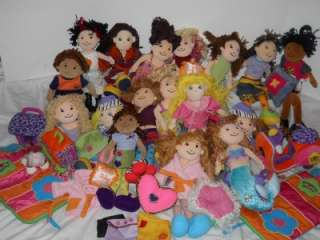 GROOVY GIRLS HUGE AWESOME LOT MERMAID BOY DOG 17 Dolls GREAT GIFT