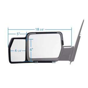 F150, 2004 2007, 2008 SNAP ON TOWING TOW MIRROR EXTENSION (New Pair