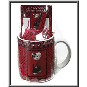 Boyds Bearware Pottery Works Coffee Cup Gift Set   Do These Make My