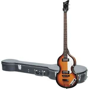 Hofner Icon Series Beatle Bass Left Handed Guitar with Icon B Bass