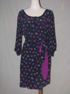 NWT Rebecca Taylor Sweet Pea Simply Floral Dress 10