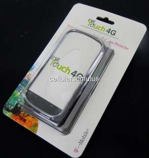 New OEM BodyGlove MyTouch 4G/HD Chrome Black Hard Leather Case Cover