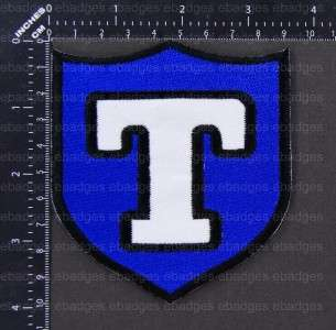 C114 NHL Toronto Arenas Primary Logo Iron On Patch