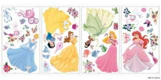 Disney Princesses Wall Decal Sticker Baby/Girls/Nursery