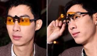 goggles Clip On Lens Sun Glasses f myopic Biker Motorcycle Driving