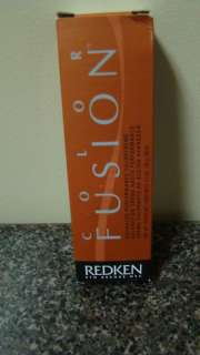 Redken color fusion hair color 5gr gold/red 2.1 oz
