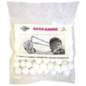 Palco 1/2 Marble Slingshot Ammo, 72ct Bag Sports