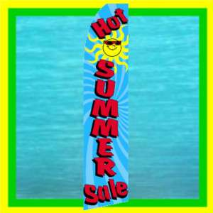 HOT SUMMER SALE Feather Swooper Banner Advertising Flag