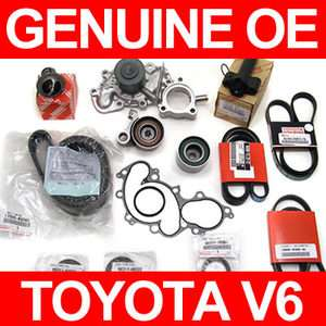 Toyota TIMING BELT & WATER PUMP KIT Genuine & OEM Parts 4 Runner