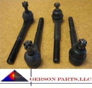 INNER & 2 OUTER TIE ROD ENDS GMC CADILLAC CHEVROLET