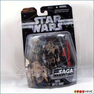 Star Wars Saga Collection camo Super Battle Droid #061