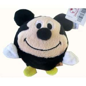 Mickey Mouse Plush   Funny Mickey Bouncing Ball Plush: Toys & Games