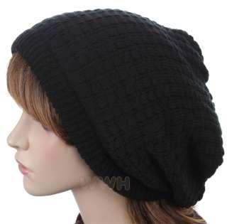 HQ Oversize Reverse Style Knit Beanie Hat Cap be624d