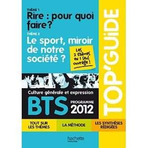BTS culture generale et expression  Programme 2012  Theme 1, Rire
