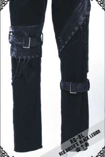 rock Japan street style Gothic fashion punk RQ BL pants girls clothes