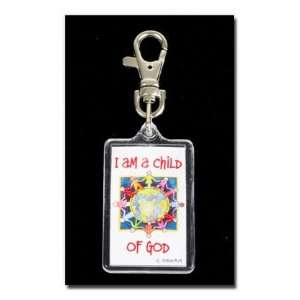 Theme Bag Tags for Panels  I Am a Child of God  Keychain  Use This Tag