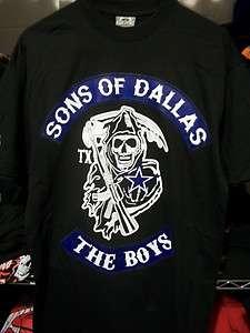 Sons Of Dallas Reaper T shirt Cowboys Texas Jersey M L XL XXL 3XL 4XL