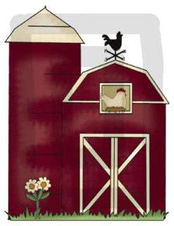 FARM BARNYARD NURSERY BABY WALL BORDER STICKERS DECALS