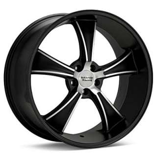 American Racing Authentic Hot Rod BLVD (Machined w/Black Accent)