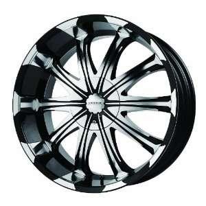 Verde Custom Wheels Avatar Black Wheel with Machined Lip (22x9.5/6x5