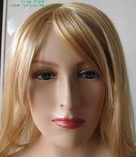 New 59H Fleshtone Female Mannequin Torso W/wig D67