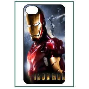 Man Cartoon USA Movie Hero Legend Style Figure iPhone 4 iPhone4 Black