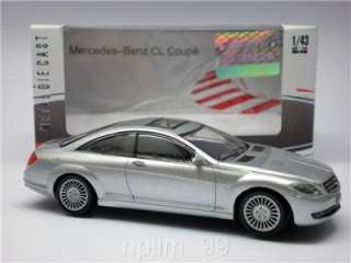 MONDO 1/43 Diecast Model Car Mercedes Benz CL Coupe New