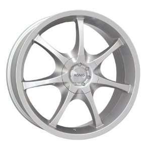 16x7 Konig Blatant (Silver) Wheels/Rims 4x100/114.3