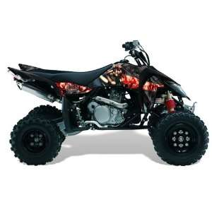 AMR Racing Suzuki LTR 450 2005 2011 ATV Quad Graphic Kit   Mad Hatter