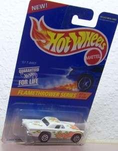 1995 Hot Wheels 57 T Bird Ford FlameThrower Series Bottom Dated 1977