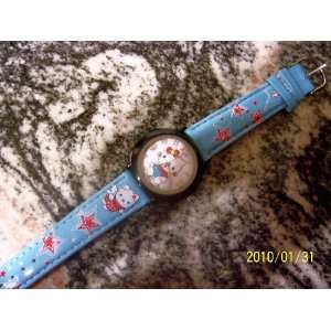 Hello Kitty Genuine Leather Blue Child/Teen Watch