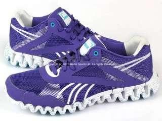 Reebok Zigfuse Team Purple/White/Blue Womens Training Running V58070