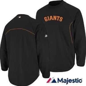 San Francisco Giants Therma Base Tech Fleece Jacket (Black