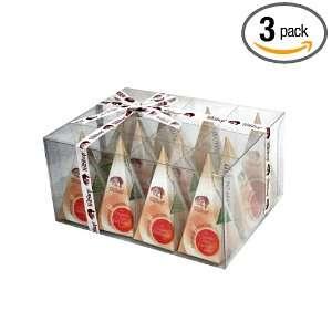TEA SHOP Organic Pyramid Gifts With Ceylon Single Estate Large Whole