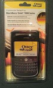 OTTERBOX COMMUTER CASE BLACKBERRY BOLD 9000 COVER ATT AT&T BLACK OEM