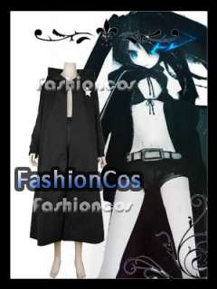 Vocaloid Hatsune Miku Black Rock Shooter Coat   Click Image to Close