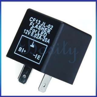 Pin Car Flasher Relay to Fix LED Light Blink Flash