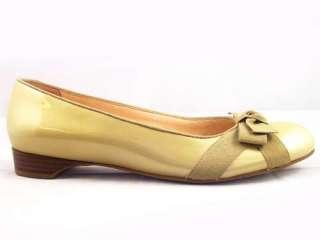 85 Woman Franco Sarto #Orbit Beige Tan Patent Shoe 9