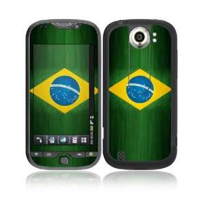 Flag of Brazil Decorative Skin Cover Decal Sticker for HTC