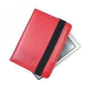 SAVEICON Red kindle 4 leather case Cover for Latest Generation 2011