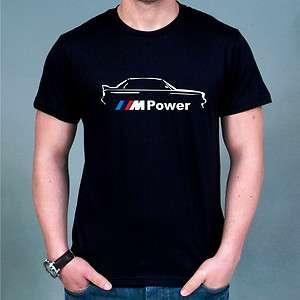 Racing BMW M Power Logo T shirt all sz S XXXL MOMO Brembo Recaro