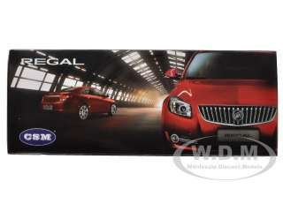 car of 2010 Buick Regal 2.4L Red Jewel Tintcoat die cast car model by