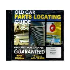 FORD LINCOLN MERCURY Parts Locating Guide Book List CD Automotive