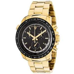 Swiss Legend Mens 10013 YG 11 BB World Timer Collection