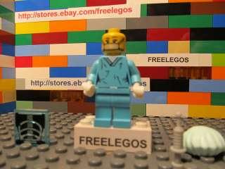Lego SURGEON DOCTOR minifigure   series 6   NEW