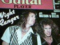 Guitar Player magazine December 1984 Night Ranger Rank & File w/ flexi