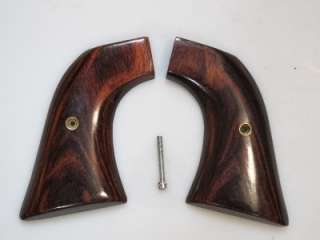 SCOTT Mahogany Custom Gun Grips for Early RUGER Super Blackhawk