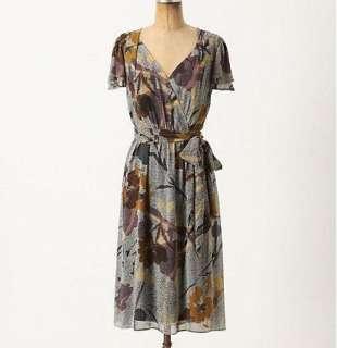New Anthropologie Bronwen Dress Size 0 8  10