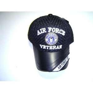 Cap   Air Force Veteran (Dk. Blue Mesh) C64