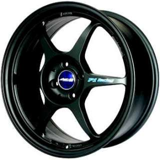 17 BUDDY CLUB BLACK RIMS WHEELS 17x7 +42 4x100 FIT XB